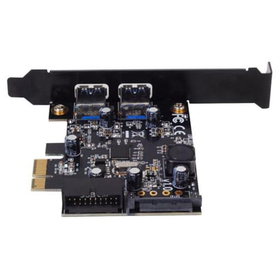 USB Silverstone PCI-Express 1x vers 4 ports USB 3.0 - SST-EC04-E - Autre vue