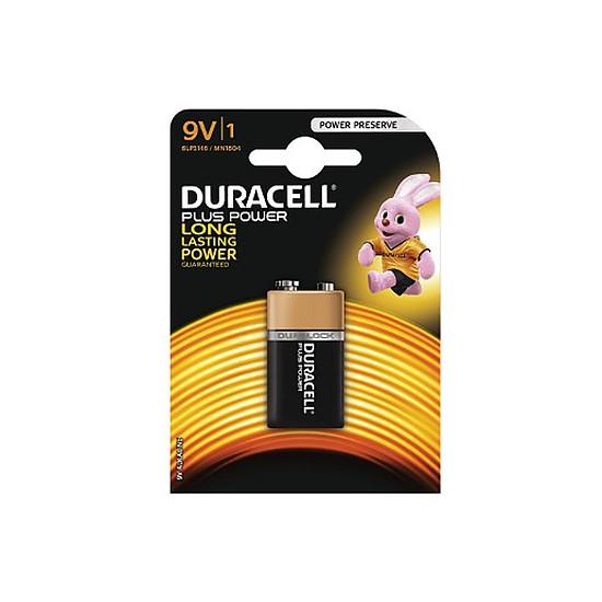 Pile et chargeur Duracell Piles Alcaline Plus Power 9V 6LR61 (à l'unité)