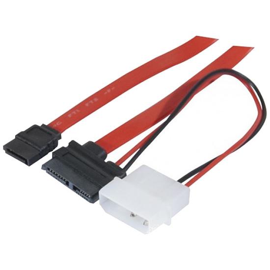 Serial ATA Adaptateur SATA / Slim SATA + Molex