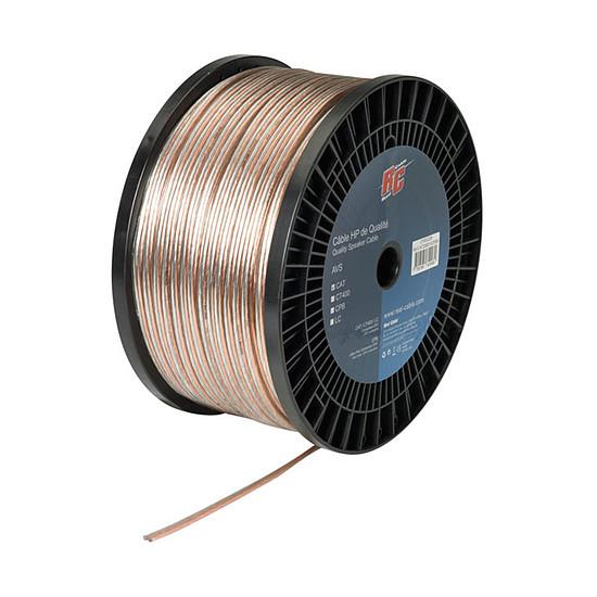 Câble d'enceintes Real Cable Moniteur - 1 mm² (prix au mètre)