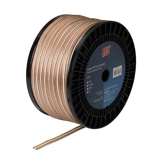 Câble d'enceintes Real Cable Moniteur - 2,5 mm² (prix au mètre)