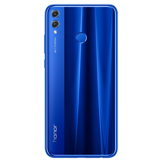 Smartphone et téléphone mobile Honor 8X (bleu) - 64 Go - 4 Go - Autre vue