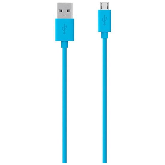 USB Belkin Câble de charge micro USB vers USB - Bleu