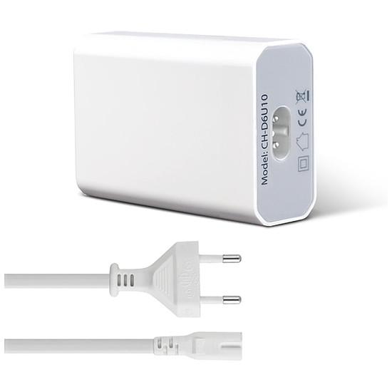 Chargeur Advance CH-D6U10 Chargeur secteur universel 6 USB - 50W - Autre vue