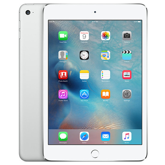 Tablette Apple iPad mini 4 - Wi-Fi + Cellular - 128 Go - Argent
