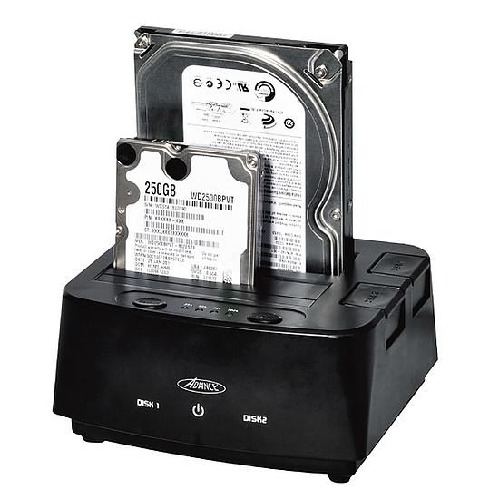 Dock pour disque dur Advance Dual Easy Docking BX-D3002U3 - Autre vue