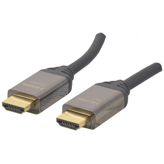HDMI Câble HDMI 2.0 Premium High Speed avec Ethernet - 2 m