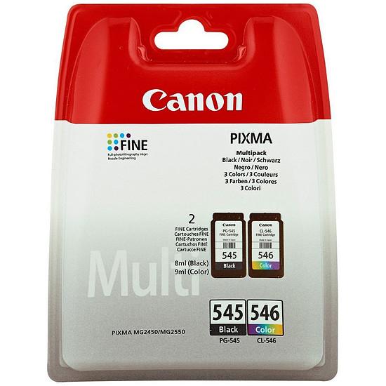 Cartouche d'encre Canon MultiPack PG-545 + CL-546 standard