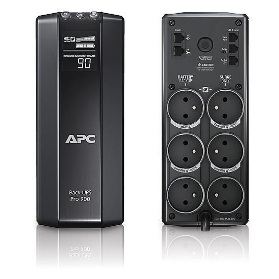 APC Power-Saving Back-UPS PRO BR900G-FR AVR, 6 Prises FR, USB, Logiciel darr/êt Onduleur 900VA