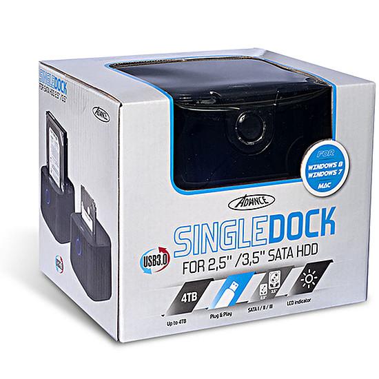 Dock pour disque dur Advance Single Dock BX-3003U31 - Autre vue