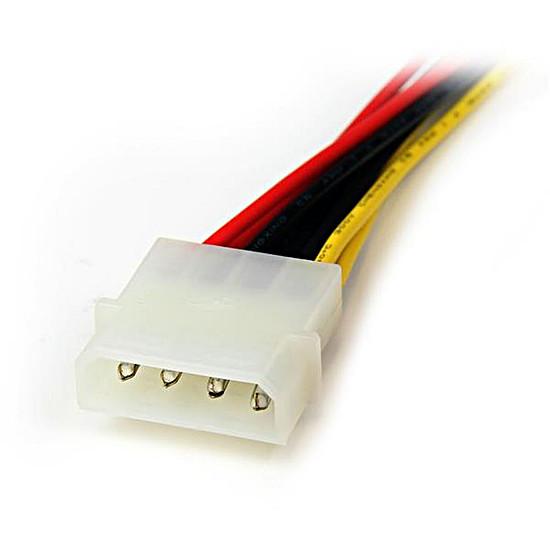 Alimentation StarTech.com Câble d'alimentation en Y 2 SATA / Molex - 30 cm - Autre vue