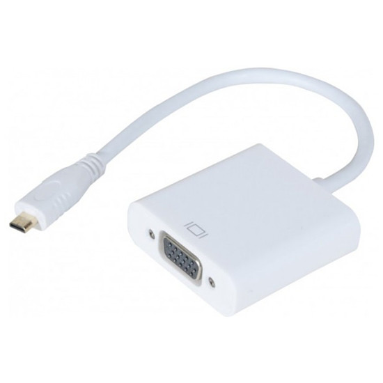 HDMI Adaptateur vidéo micro HDMI / VGA