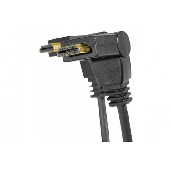 HDMI Câble HDMI High Speed pivotant sur 90° - 1m
