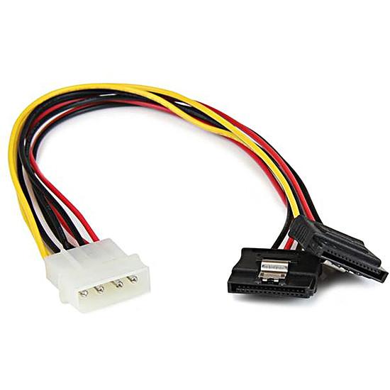 Alimentation StarTech.com Câble d'alim 2 SATA / Molex - 30 cm
