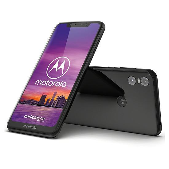 Smartphone et téléphone mobile Motorola One (noir) - 64 Go - 4 Go