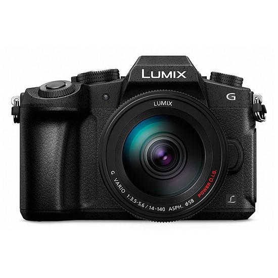 Appareil photo hybride Panasonic Lumix DMC-G80 + 14-140 mm