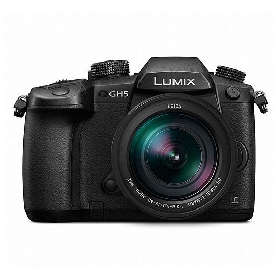 Appareil photo hybride Panasonic Lumix DMC-GH5 + Leica 12-60 mm