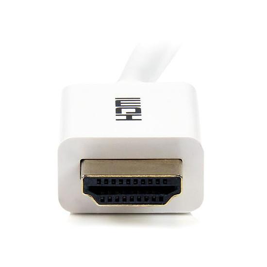 HDMI StarTech.com Cable HDMI haute vitesse Ultra HD 4K - CL3 - 3m - Autre vue