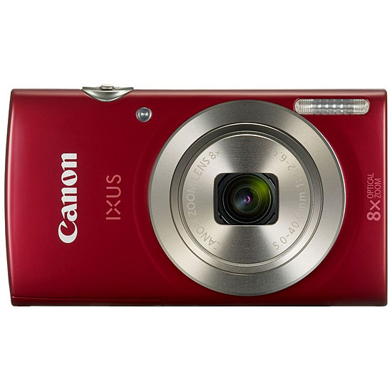 Appareil photo compact ou bridge Canon Ixus 185 Rouge