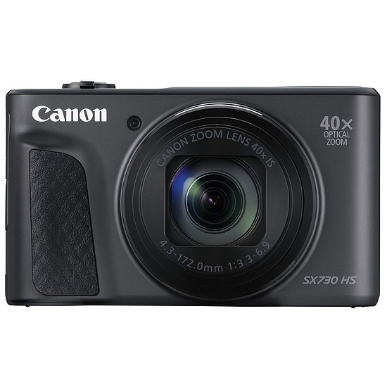 Appareil photo compact ou bridge Canon Powershot SX730 HS Noir