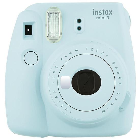 Appareil photo compact ou bridge Fujifilm Instax MINI 9 Bleu givré