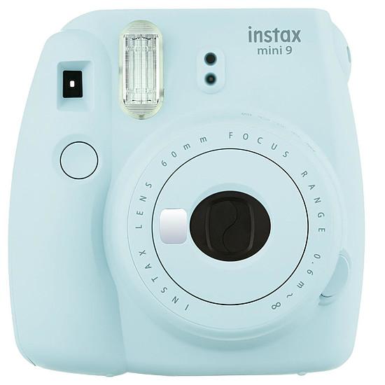 Appareil photo compact ou bridge Fujifilm Instax MINI 9 Bleu givré - Autre vue