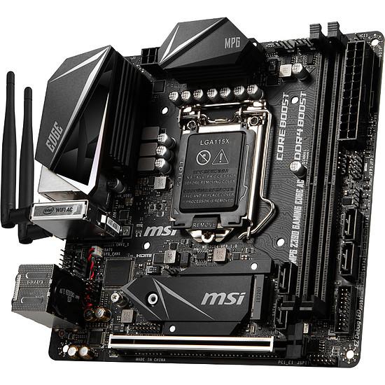 Carte mère MSI MPG Z390I GAMING EDGE AC - Autre vue