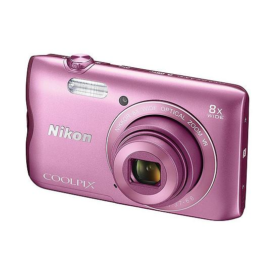 Appareil photo compact ou bridge Nikon Coolpix A300 Rose