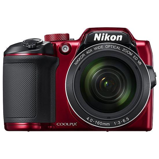 Appareil photo compact ou bridge Nikon Coolpix B500 Rouge