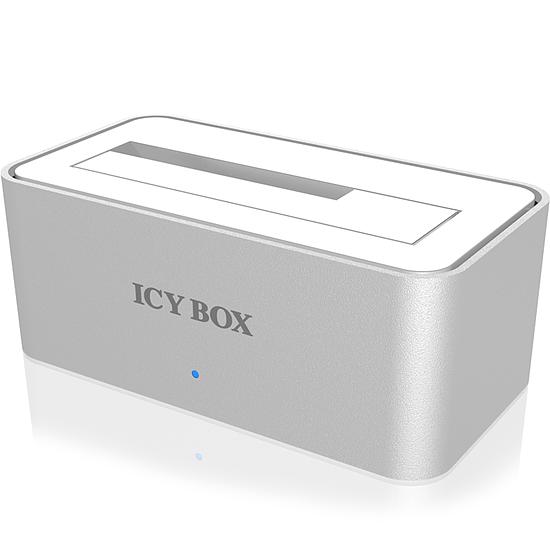 Dock pour disque dur Icy Box IB-111StU3-Wh