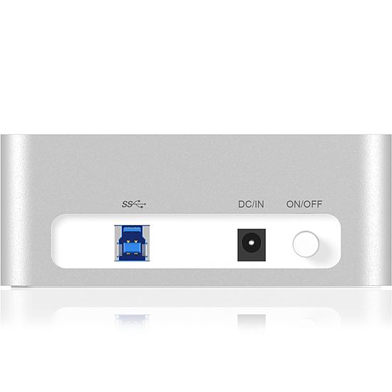 Dock pour disque dur Icy Box IB-111StU3-Wh - Autre vue
