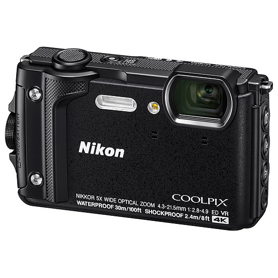 Appareil photo compact ou bridge Nikon Coolpix W300 Noir