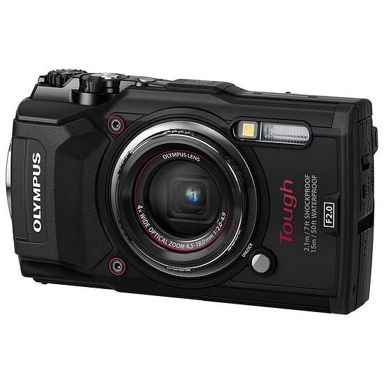 Appareil photo compact ou bridge Olympus Tough TG-5 Noir