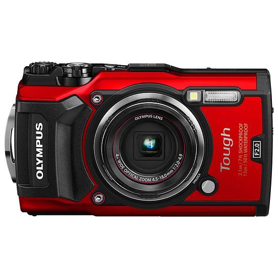 Appareil photo compact ou bridge Olympus Tough TG-5 Rouge