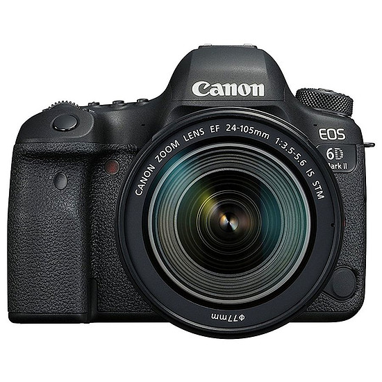 Appareil photo Reflex Canon EOS 6D Mark II + 24-105 IS STM