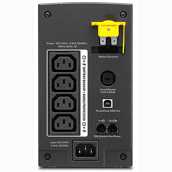 Onduleur APC Back-UPS BX 700VA - Prises IEC - Autre vue