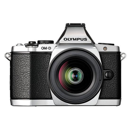 Appareil photo hybride Olympus OM-D E-M5 Mark II Silver + 12-50 mm f/3.5-6.3