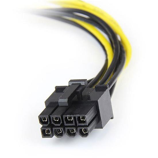 Alimentation StarTech.com Câble alimentation 2 Molex / PCI-E 8 broches 15 cm - Autre vue