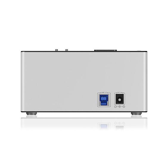 Dock pour disque dur Icy Box Station d'accueil et de clonage IB-121CL-6G - Autre vue