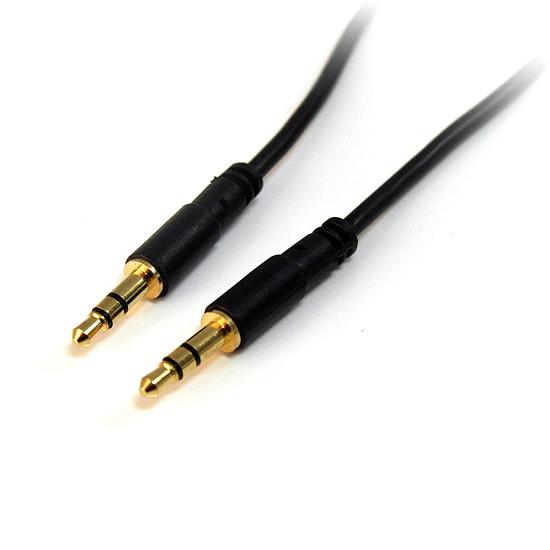 Adaptateur StarTech.com Câble audio stéréo Slim 3,5mm de 90cm - M/M