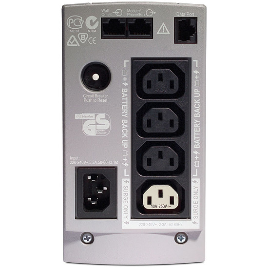 Onduleur APC Back-UPS CS BK650EI - Autre vue