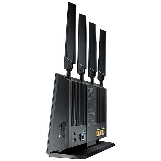 Routeur et modem Asus 4G-AC68U - Routeur 4G LTE AC1900 double bande - Autre vue