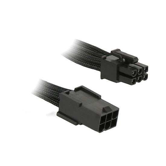Alimentation BitFenix Alchemy Rallonge Noir PCI-E 6 broches