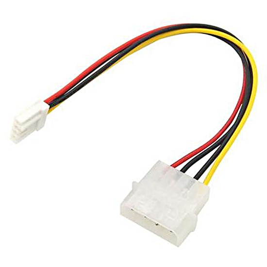 Alimentation Câble d'alimentation Molex / Floppy - 20 cm