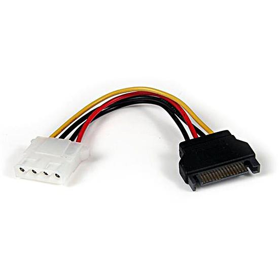 Alimentation StarTech.com Câble d'alimentation SATA / Molex - 15cm