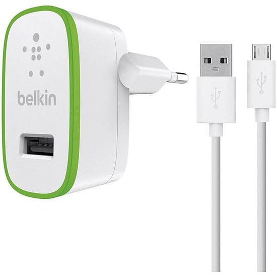 Chargeur Belkin Chargeur secteur (2,1 A) avec câble micro-USB