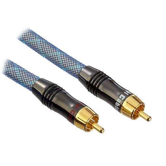 Câble d'enceintes Real Cable Câble Subwoofer Evolution ESUB - 3 m