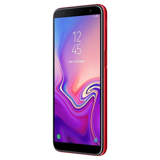 Smartphone et téléphone mobile Samsung Galaxy J6+ (rouge) - 32 Go - 3 Go