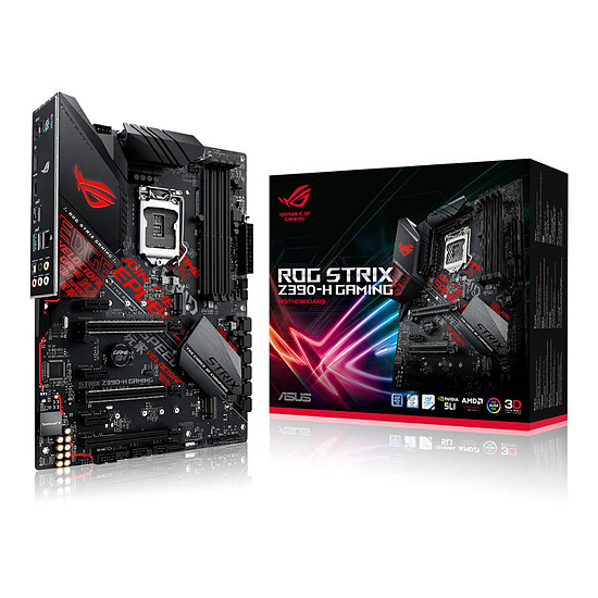 Carte mère ASUS ROG STRIX Z390-H GAMING
