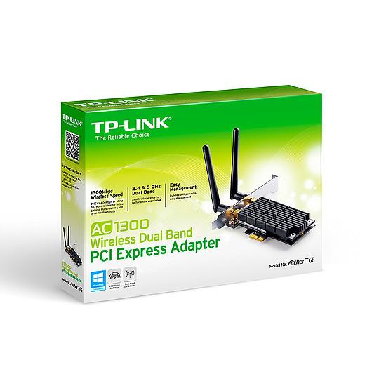 Carte réseau TP-Link Archer T6E - Adaptateur PCIe Wi-Fi AC1300 - Autre vue